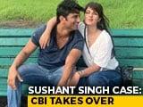 Video : Special CBI Unit Probes Sushant Rajput Case, Rhea Chakraborty An Accused
