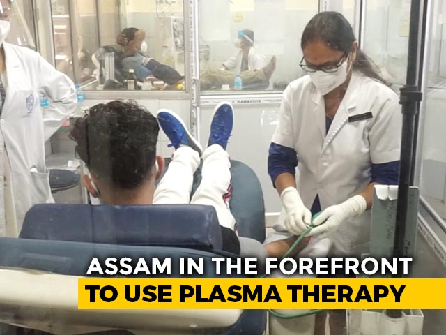 Video: Early Plasma Therapy Helps Assam Keep COVID-19 Mortality Rate Low