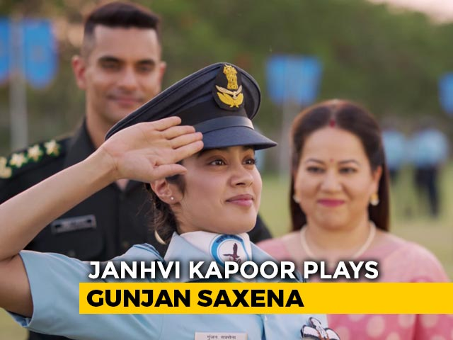 First Impressions Of Gunjan Saxena The Kargil Girl