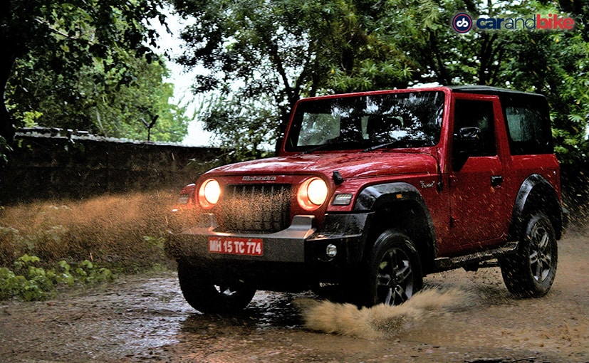 Prices for the 2020 Mahindra Thar will be announced on October 2, 2020