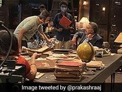 प्रकाश राज ने की काम पर वापसी, KGF Chapter 2 की शूटिंग करते आए नजर- देखें Photos