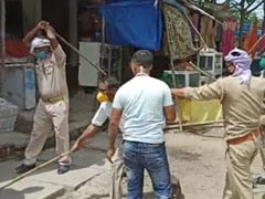 On Camera, UP Official Thrashes Mask-Clad Men During Checking Drive