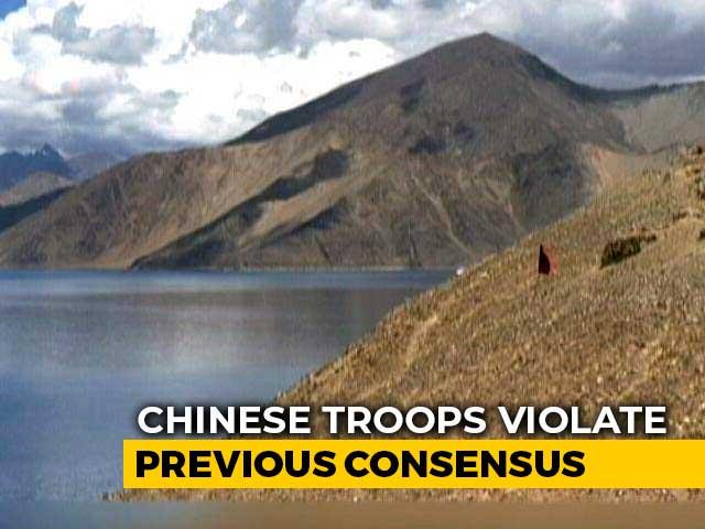 Video : India-China Clash At Pangong Lake In Eastern Ladakh