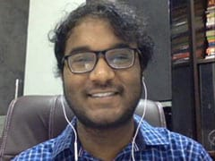"""""""Don't Believe Anyone Is 'Born Genius'"""": Indian Math Wizard Who Won Gold"""