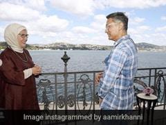 'लाल सिंह चड्ढा' की शूटिंग के बीच तुर्की की फर्स्ट लेडी अमीन अर्दोगान से मिलने पहुंचे Aamir Khan- देखें Photos