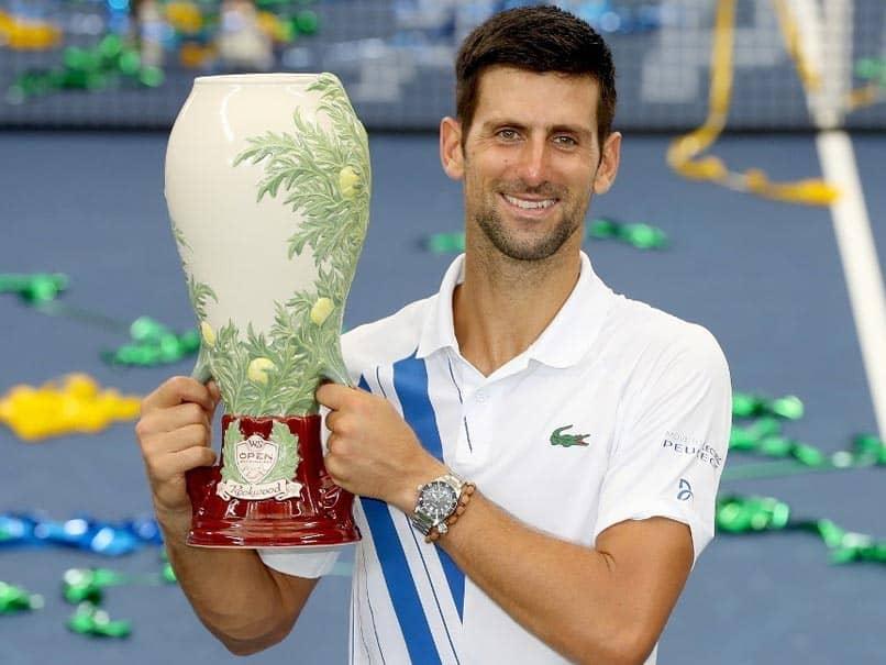 Novak Djokovic Rallies Past Milos Raonic To Win US Open Tuneup Title