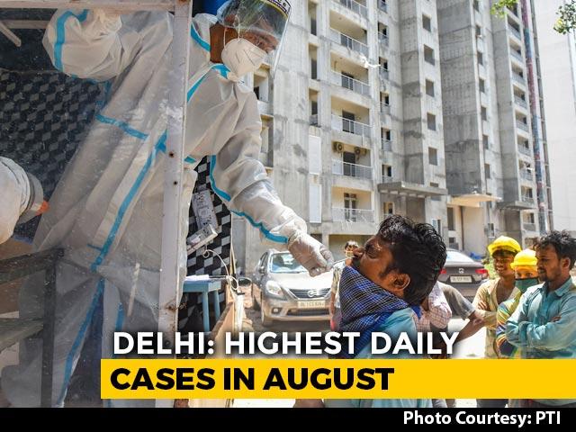 Video : Delhi Reports 1,840 New COVID-19 Cases