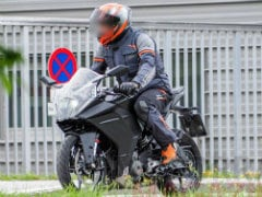 2020 KTM RC 390 Spied Testing In Europe