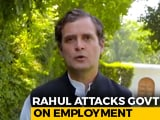 "Video : ""Media Mocked My COVID Warning"": Rahul Gandhi Predicts Dire Job Crisis"