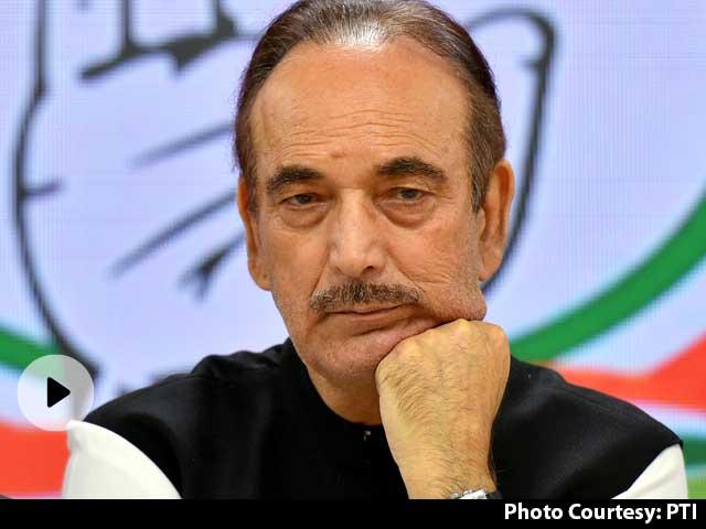 कांग्रेस नेता कुलदीप बिश्नोई का आरोप- 'कांग्रेस को तोड़ने की साजिश में लगे हैं गुलाम नबी आजाद'
