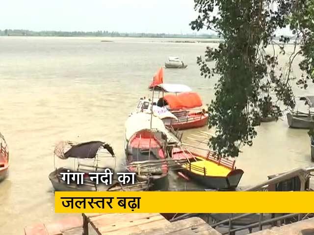 Videos : देश प्रदेश: कानपुर में गंगा नदी का जलस्तर बढ़ा, घाट और निचले इलाके पानी में डूबे