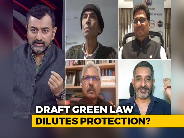Video : Controversy Over Draft Environment Law