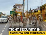 Video : Tight Security At Ayodhya's Hanumangarhi Temple Ahead Of PM's Visit