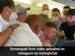 On Camera, Fistfight On Airline After Two Passengers Refuse To Wear Masks