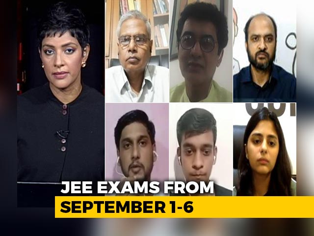 Video : Safety vs Future: Students Forced To Choose As Exams Held Amid Pandemic?