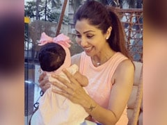 "Shilpa Shetty's Daughter Samisha Is 6-Months-Old And Showing ""Signs Of Being Independent Already"""