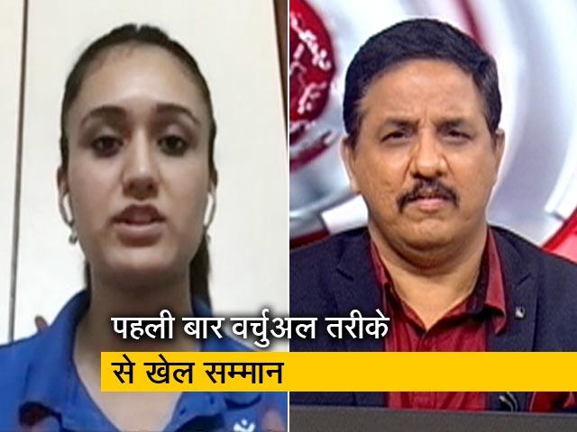 Videos : मनिका बत्रा को खेल रत्न सम्मान, जाहिर की खुशी