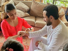 Soha And Saif Ali Khan Are Celebrating Raksha Bandhan Every Day - One Post At A Time