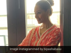 Bipasha Basu Shows Us How To Combine Summer Fashion With Festive Wear