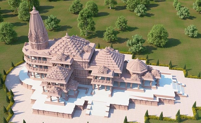 pogce5ig ayodhya ram temple proposed design august Ayodhya Ram Mandir Bhoomi Pujan Live Updates: Ayodhya Decked Up For Grand Ceremony, PM To Attend