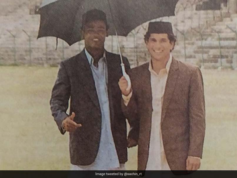 """We Are Here"": Sachin Tendulkar Responds To Major Throwback Pic"