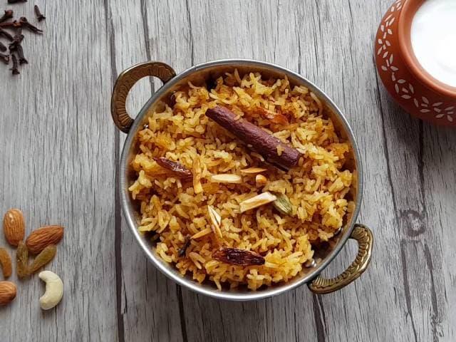 Video : How To Make Saffron Rice