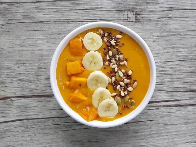 Video : How To Make Mango Smoothie Bowl