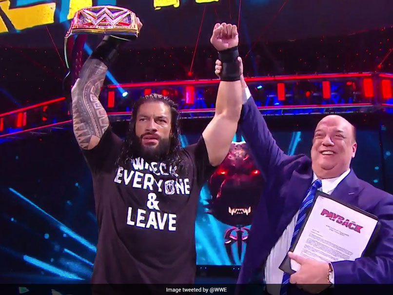 WWE Payback: Roman Reigns Wins Triple Threat Match To Clinch Universal Championship