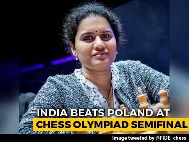 Video : Koneru Humpy Wins Armageddon, Helps India Reach Final Of Online Chess Olympiad
