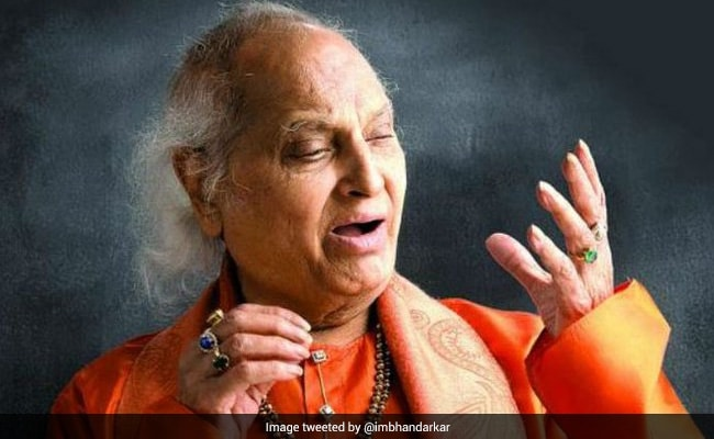 Legendary Vocalist Pandit Jasraj Cremated With State Honours. Anup Jalota, Kailash Kher And Others Attend Funeral