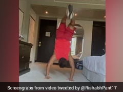 IPL 2020: Rishabh Pant Works Out To Kanye West Song In Hotel Room. Watch