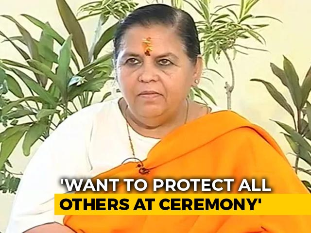 """Video : """"Worried About PM"""": Uma Bharti To Skip Ayodhya Event As Covid Precaution"""