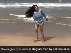 Monalisa समुद्र किनारे यूं झूमती आईं नजर, एक्ट्रेस का डांस Video देख फैंस ने भी की तारीफ