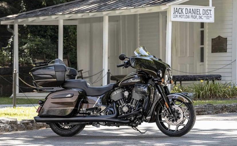 The Indian Roadmaster Dark Horse Gentleman Jack is the fifth Jack Daniel's Special Edition motorcycle