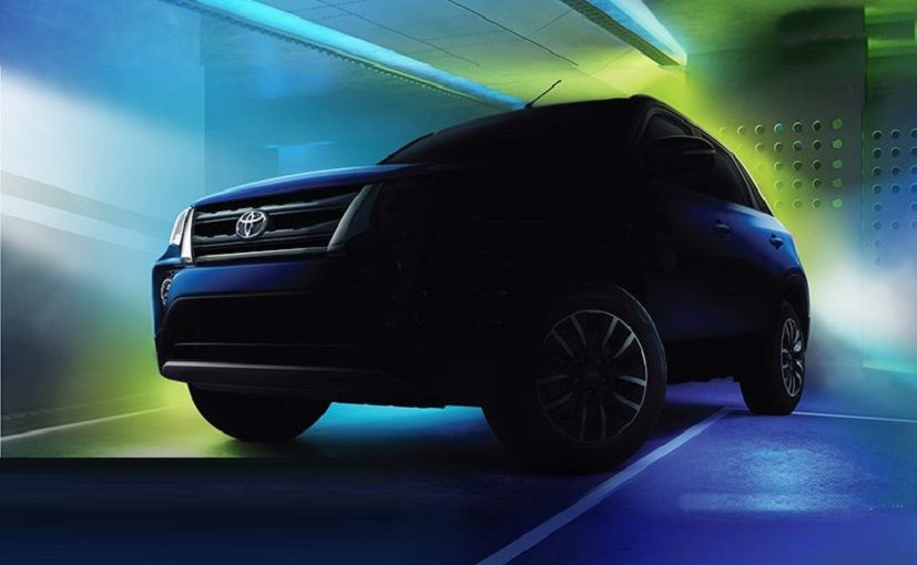 The Toyota Urban Cruiser can be booked for a token amount of Rs. 11,000.