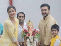 Shilpa Shetty ने गणपति विसर्जन में पति और बेटे के साथ किया डांस, धूमधाम से किया बप्पा को विदा- देखें Video