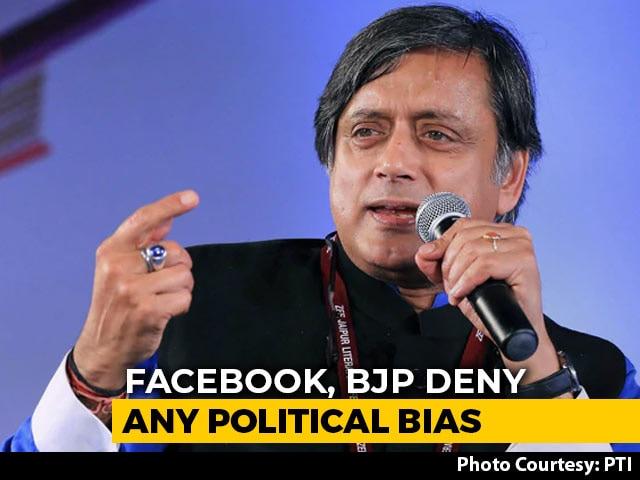 Video : MPs Spar On Twitter As Shashi Tharoor Talks Of Summoning Facebook
