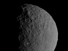 "Dwarf Planet Ceres An ""Ocean World"" In Astroid Belt Between Mars, Jupiter"