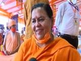 "Video : ""Ayodhya Has Brough Everyone Together"": BJP's Uma Bharti"