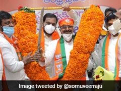 Somu Veerraju Sworn-In As Andhra Pradesh BJP President
