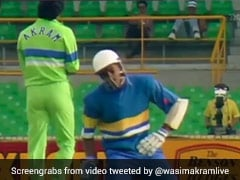 When Wasim Akram Hit Roshan Mahanama In The Box, Twice In Two Balls. Watch