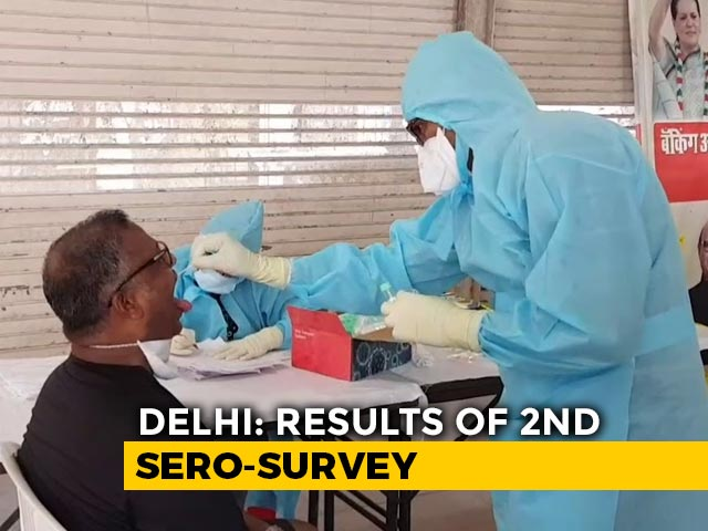Video : Top News Of The Day: Over 29% Delhi Residents Have Antibodies For COVID-19, Shows Survey