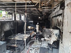 Fire Breaks Out At Furniture Shop In Delhi's Lajpat Nagar Market