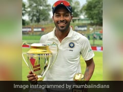 """""""Always Special"""": Mumbai Indians Recall Hardik Pandya's Maiden Test Hundred"""