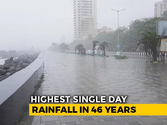 Video : Top News Of The Day: Mumbai Rain Intensity Highest In Decades