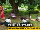 Video : Tripura's Neighbourhood Classes Bridge Digital Divide Amid Covid