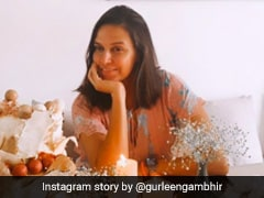 Neha Dhupia's Birthday Featured Family, Flowers And A Beautiful Three-Tier Cake (See Pics)