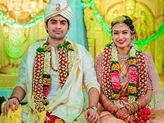 Pics From 'Saaho' Director And Pravallika's Wedding