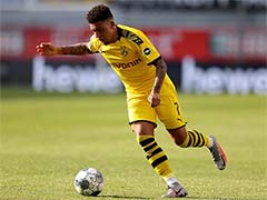 """Borussia Dortmund Boss Says """"No Contact"""" For Jadon Sancho From Manchester United"""