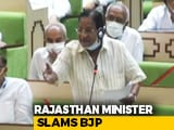 "Video : ""Modi's Operandi,"" Says Congress In Jibe At BJP In Rajasthan Asssembly"